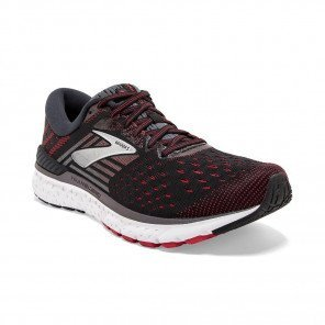BROOKS TRANSCEND 6 Homme | Black / Ebony / Red
