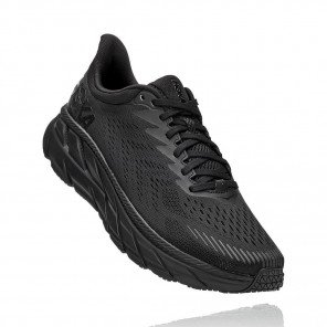 HOKA CLIFTON 7 Homme - BLACK / BLACK