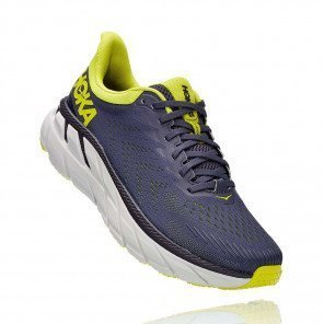 HOKA CLIFTON  7 Homme - ODYSSEY GREY / EVENING PRIMROSE