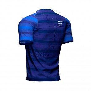 COMPRESSPORT Tee-shirt manche courte RACING Homme | Bleu
