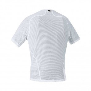 GORE® BASE LAYER MAILLOT MANCHES COURTES HOMME | WHITE | Collection Printemps-Été 2019