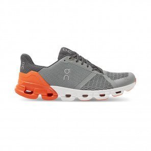 ON RUNNING Cloudflyer Grey | Orange Homme