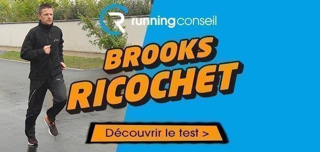 BROOKS RICOCHET TEST